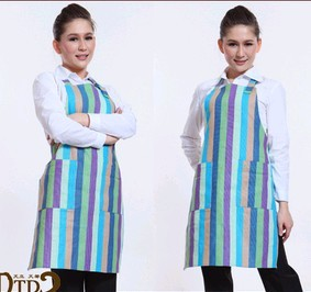 Blue Fashion cotton Cooking  Apron