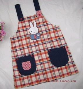 Fashion cotton Cooking  Apron for kids