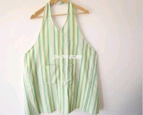 Green 16OZ cotton Cooking  Apron  For men