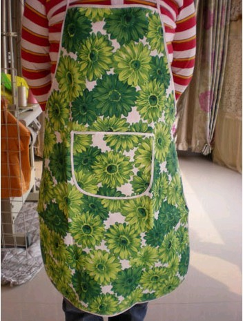 Green Fashion Cotton Cooking  Apron