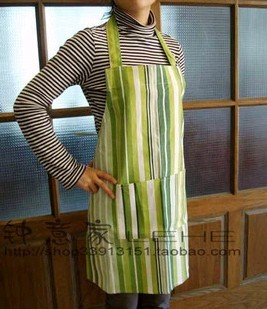 Green Fashion cotton Cooking  Apron