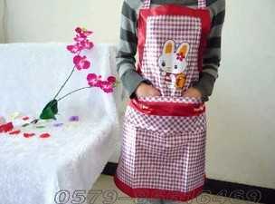 Pink Fashion Cotton Cooking  Apron