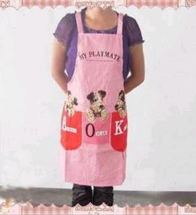 Pink Fashion cotton Cooking  Apron
