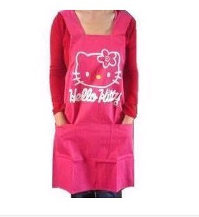Red Fashion cotton Cooking  Apron