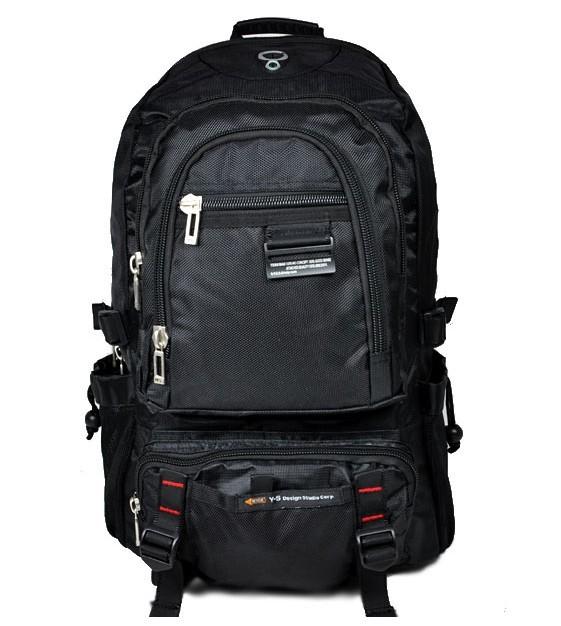 420D Black  backpack