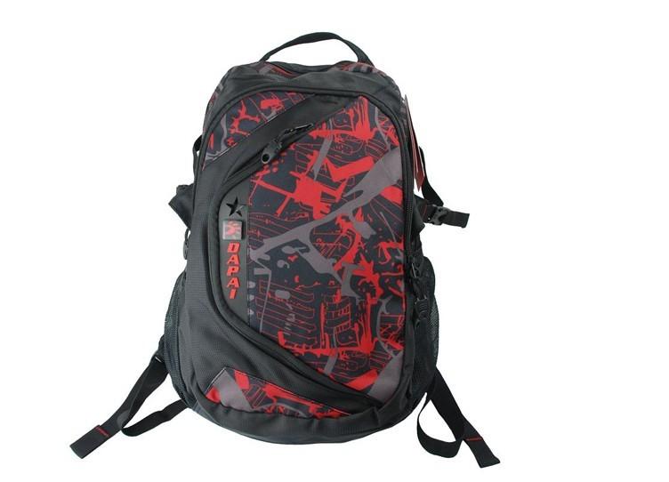 Beauty Flower New design black backpack