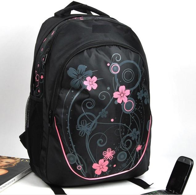 Beauty Flower sports backpack