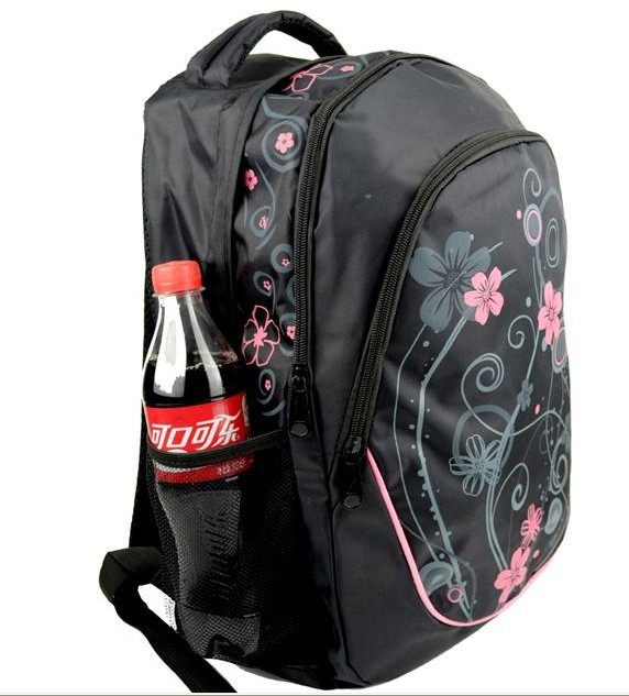 Beauty Flower sports backpack said