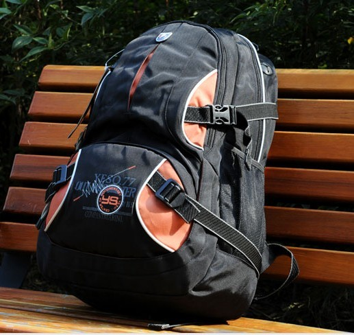 Beauty New design black backpack