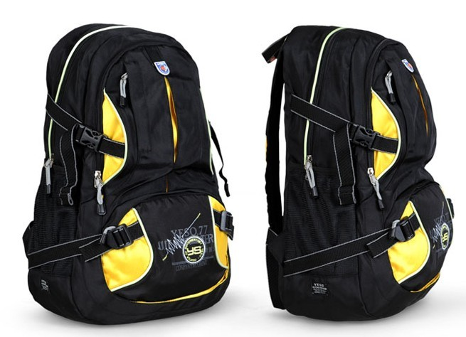 Beauty Yellow sports backpack