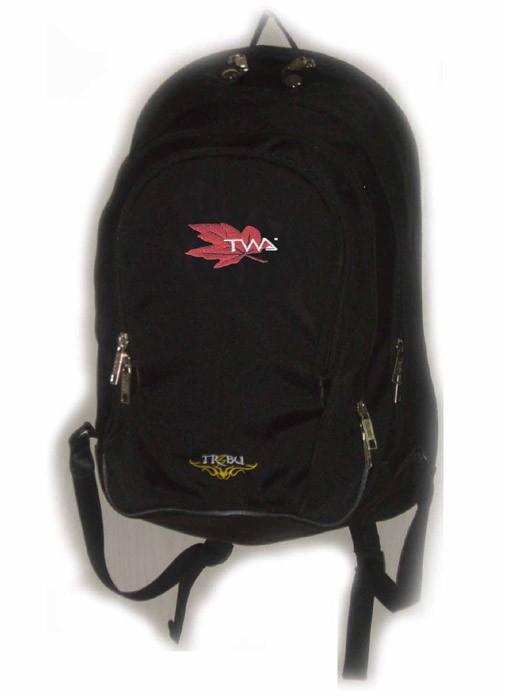 Black New Design  sports backpack