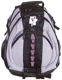 Black and White Simple Sports   backpack