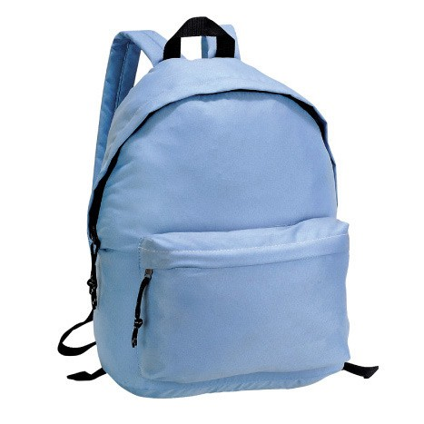 Blue Flashlight polyester outdoor sport  backpack