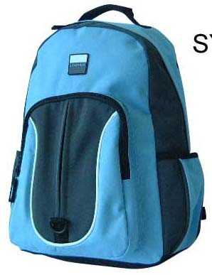 Blue How sale 420D polyster backpack