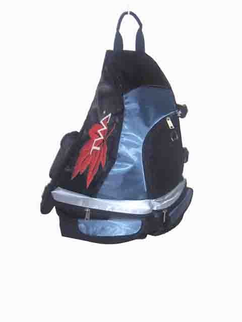 Blue sports backpack