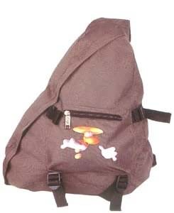 Brown New design triangle shape backpack