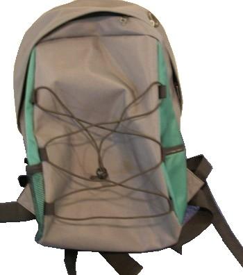 Brown Simple backpack