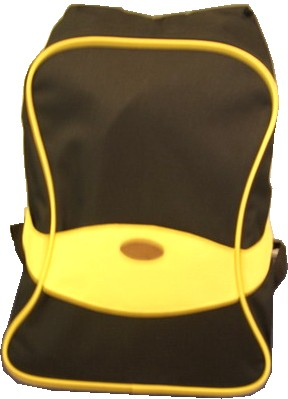 Brown polyester outdoor backpack