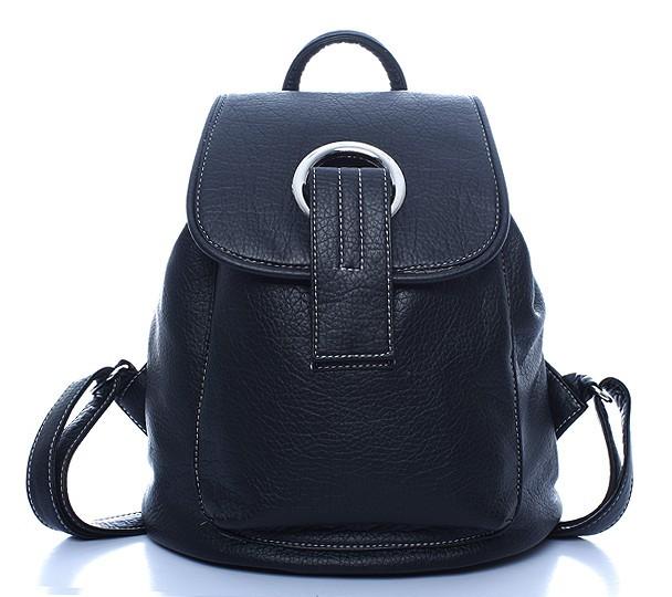 Cow Leather New desig Black backpack