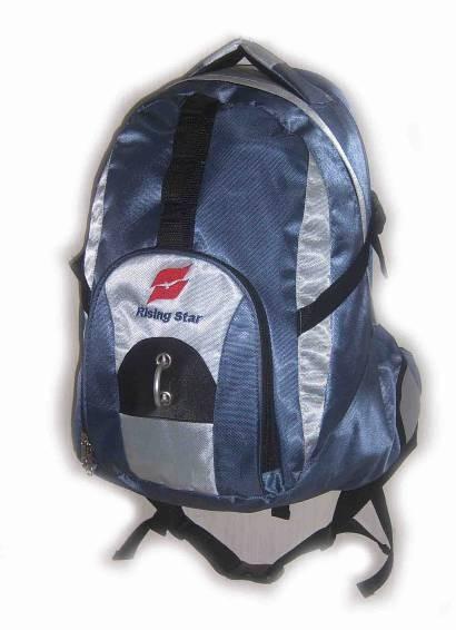Flashlight Blue New Design  sports backpack
