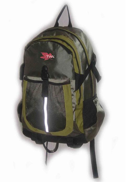 Flashlight Green New Design  sports backpack