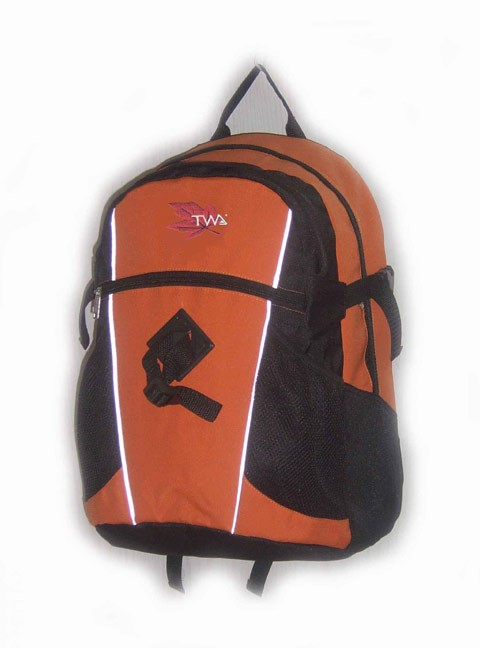 Flashlight Orange New Design  sports backpack