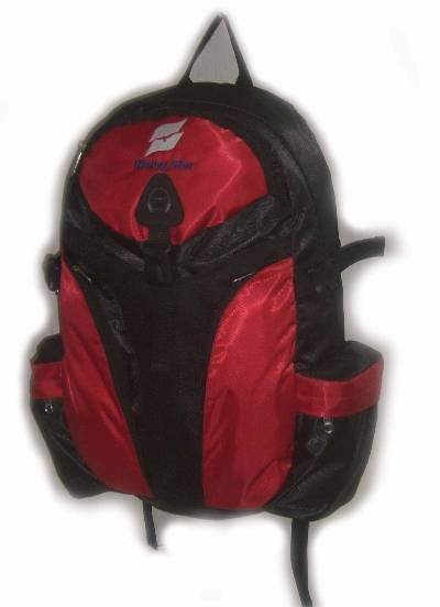 Flashlight Red New Design  sports backpack