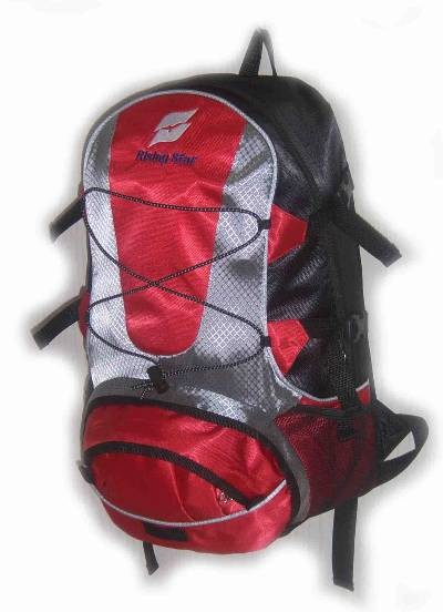 Flashlight Red sports backpack