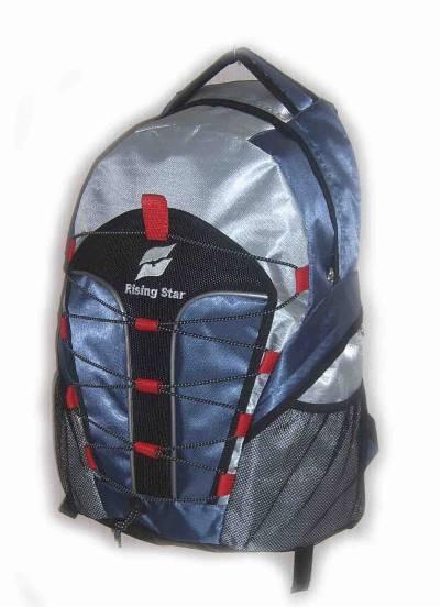 Flashlight Slivery sports backpack