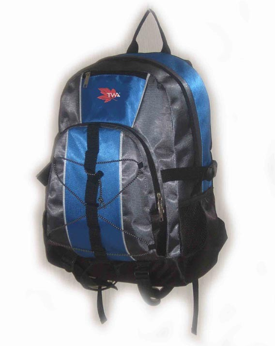 Flashlight blue New Design  sports backpack