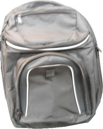Gray Simple backpack