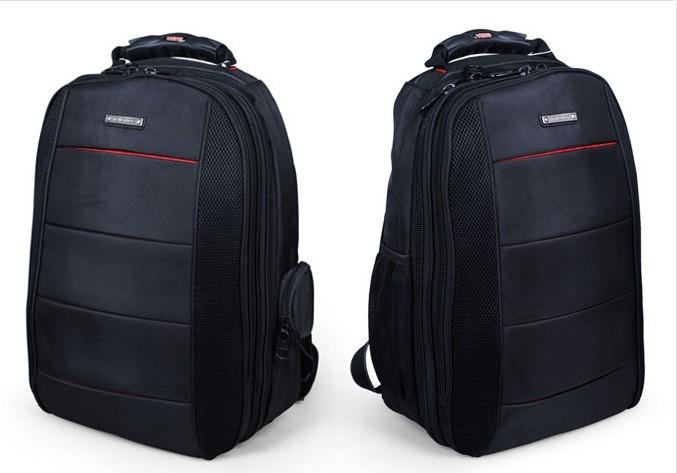 Leather New design Black backpack