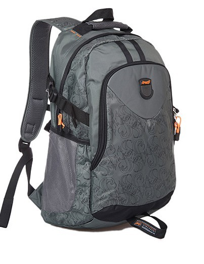 Leather New design Gray backpack