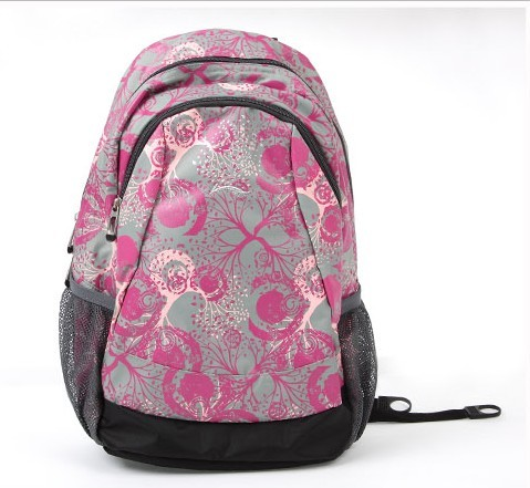 Leather New design Pink backpack