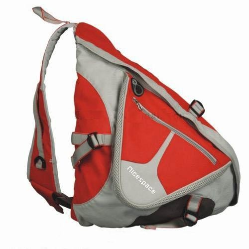 New design triangle shape backpack