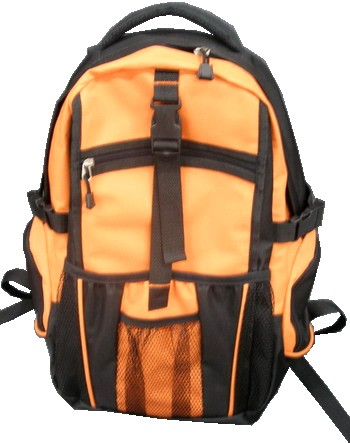 Orange Simple backpack