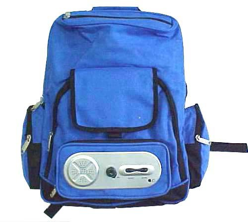 Outdoor backpack With Radio