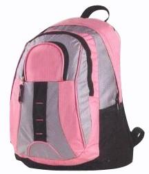 Pink outdoor 420D sport backpack