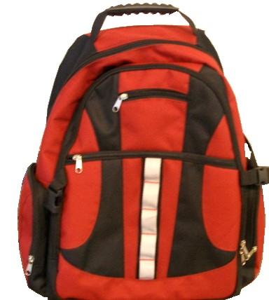 Red Simple backpack