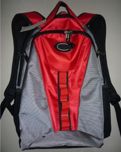 Red flashlight Material Sports  backpack