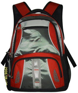Simple Red Sports  backpack