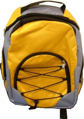Yellow Outdoor backpack bag