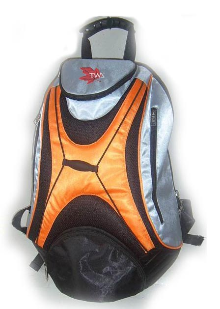 Yellow sports backpack