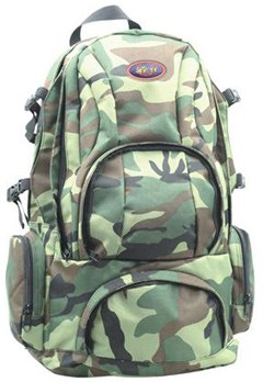 camouflage material backpack