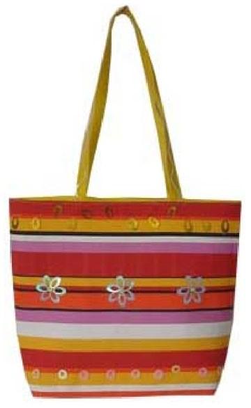 Colour lady beach bag