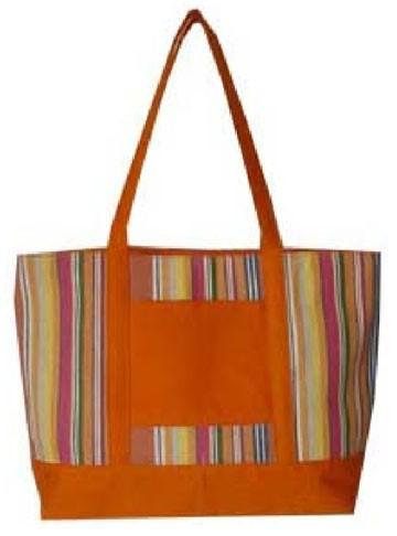 Yellow lady beach bag