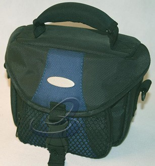 Black Polyster Camera Bag