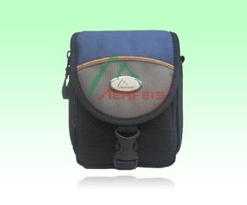 Blue Polyster Camera Bag