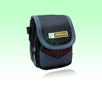 Brown Polyster Camera Bag