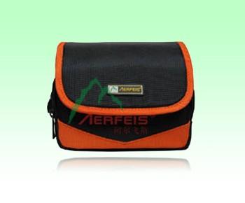 Orange Polyster Camera Bag